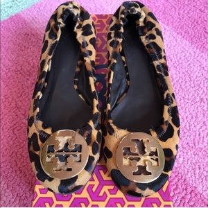 Tory Burch Leopard Flats